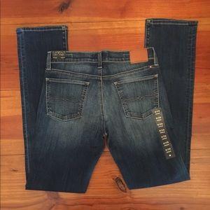 NWT Lucky Brand Jeans 'Sweat Straight' Sz 6/28R